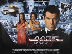 Tommorow Never Dies Poster #18 1997