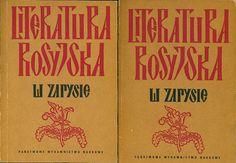 Literatura rosyjska w zarysie. Część I/II, Zbigniew Barański, Antoni Semczuk (red.), PWN, 1986, http://www.antykwariat.nepo.pl/literatura-rosyjska-w-zarysie-czesc-iii-zbigniew-baranski-antoni-semczuk-red-p-14428.html
