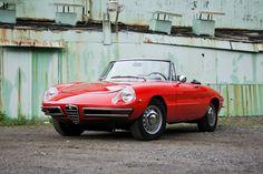 Alfa Romeo 1750 Long-Tail Spider