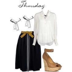 """Thursday"" by cookiek on Polyvore"