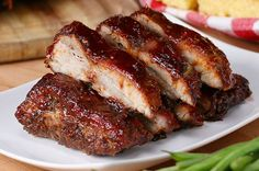 Baby Back Ribs One-Pan BBQ Baby Back Ribs. Minus the sugar and sauce. SMcOne-Pan BBQ Baby Back Ribs. Minus the sugar and sauce. Tasty Videos, Food Videos, Pork Recipes, Cooking Recipes, Cooking Tv, Bbq Baby Back Ribs, Baby Back Pork Ribs, Beef Back Ribs, Pork Dishes