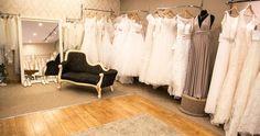 The boutique.                                             Dress Me Pretty Bridal Room