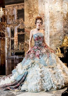Dolce & Gabbana ~~ This dress is a work of art....I had to Pin it!