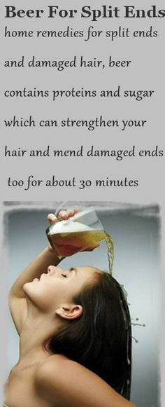 wash your hair with beer? I guess I'll try this, Hope my hair doesn't smell like beer.