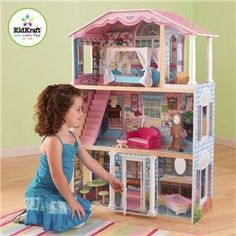 Delight your little princess with the Kidkraft My Delightful Dollhouse. Watch for secret deals...
