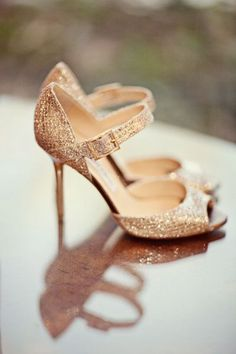 Jimmy Choo sparkle wedding shoes! pretty pretty please! #jimmychooheelssparkle #stilettoheelsjimmychoo