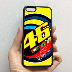 Valentino Rossi Sun and Moon iPhone Rubber Case 4 4s 5 5s 5c 6 6s Plus Softcase Hybrid