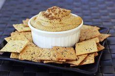 Creamy Indian-Spiced White Bean Dip. DebbieNet.com