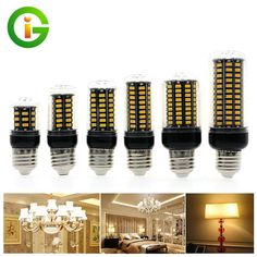 LED Corn Bulb Lamp Light E27/E14 No Flicker 3W 5W 7W 9W 12W AC85V-265V SMD 5730 Energy Saving Home Lighting  #Affiliate