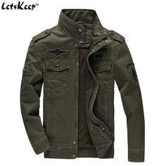 2017 LetsKeep 6XL mens spring Bomber Jacket Men badge military jacket coat tactical Air force one pilots jacket Plus size, MA365