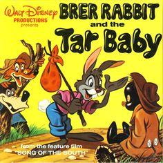 Brer Rabbit and the Tar Baby ( Walt Disney Presents the Story of )- Copyright Vintage 1971 - Golden Press - vateam uncle remus tar baby brer rabbit brer bear brer fox disney banned zipadeedoodah zip-a-dee-doo-dah children's book childs book USD Walt Disney, Disney Magic, Uncle Remus, Song Of The South, Disney Presents, My Pool, Recorded Books, My Childhood Memories, Childhood Toys