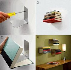 Invisible Book Shelf | Daily Living Brief