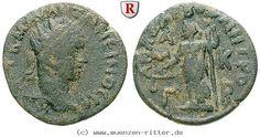 RITTER Kilikien, Anazarbos, Elagabal, Trihemiassarion, Justitia, Dikaiosyne #coins