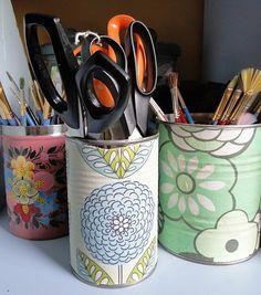 latas recicladas