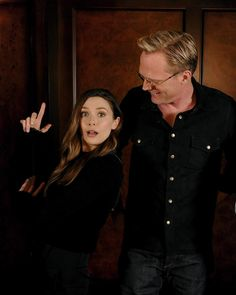 Elizabeth Olsen & Paul Bettany 'Vision and the Scarlet Witch'
