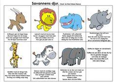 Savannens djur