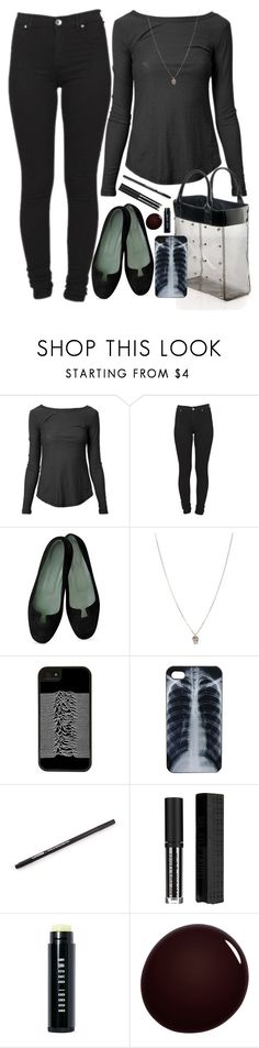 """""""Untitled #645"""" by no0ne ❤ liked on Polyvore featuring James Perse, Dr. Denim, Orelia, CellPowerCases, Topshop, Bobbi Brown Cosmetics and NARS Cosmetics"""
