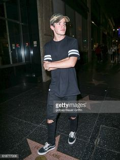 Aaron Carpenter is seen on October 27 2016 in Los Angeles California