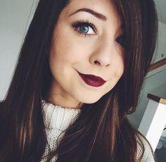 Zoe sugg dark makeup