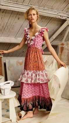 Liberty Ready To Wear Boho Fashion, Girl Fashion, Fashion Outfits, Fashion Design, Liberty Fashion, Patchwork Dress, Date Outfits, Cotton Dresses, Pretty Outfits