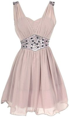 Love it though i would have like it as a long dress... but yet it's so cute as it is... :) Lavender Sequin Chiffon Dress
