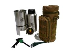Pathfinder Store Stainless Steel Bottle Cooking Kit
