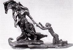 """L'unfollow"", Camille Claudel, bronze, 1899."