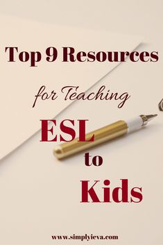 Beginner ESL resources for elementary teachers. ESL teaching elementary level, ESL activities and games for kids #esl #ell #elementary #english #teaching #educate #beginner