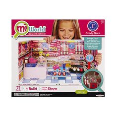 Mi World Deluxe Envrionment Set with Doll Sweet Factory Jakks HK Ltd. (575 MXN) ❤ liked on Polyvore featuring toys
