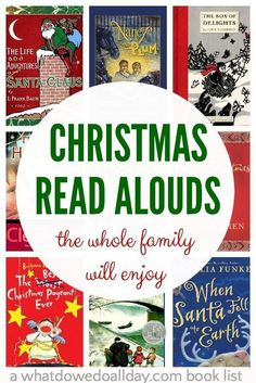 Christmas chapter books to read aloud as a family. Get out the hot chocolate because these are books grown-ups will enjoy just as much as the kids! Christmas Books For Kids, Christmas Activities, Book Activities, Magical Christmas, Christmas Ideas, Christmas Time, Christmas Crack, Preschool Christmas, Preschool Books