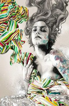 Illustrations by Gabriel Moreno {Part 2}