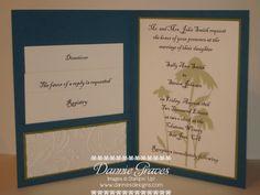 Wedding Inviation Inside, as simple as beauty of wedding