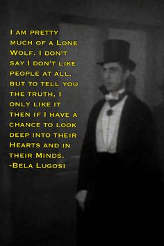 Dracula Lone Wolf Quote