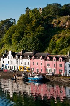 Portree harbour; Isle of Skye, Scotland.