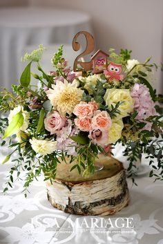 Christening, Table Decorations, Floral, Home Decor, Decoration Home, Room Decor, Flowers, Home Interior Design, Flower