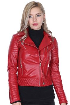 Red Leather, Leather Jacket, Leeds, Training, Model, Clothes, Fashion, Woman, Leather Jackets
