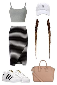 """""""How We Livin' """" by stacyr-xoxo on Polyvore featuring adidas, Oasis and Givenchy"""