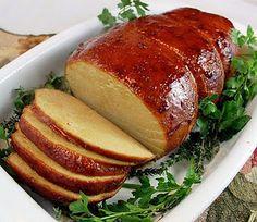 Vegan Holiday Seitan Roast.