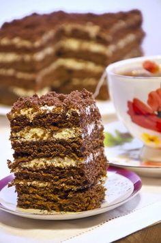 Шоколадный йогуртовый торт - КУЛИНАРНЫЙ УГОЛОК