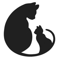 Alley Cat Allies is a nonprofit advocacy organization whose mission is to transform and develop communities to protect and improve the lives of cats. Cat Drawing, Line Drawing, Silhouette Chat, Cat Silhouette Tattoos, Alley Cat Allies, Cat Quilt, Cat Crafts, Cat Pattern, Cat Tattoo
