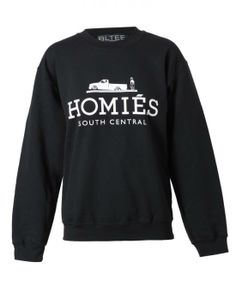 """Brian Lichtenberg's collection of """"Homies' sweatshirts spoofing the Hermes signature logo is a must-have."""
