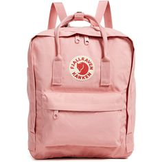 Fjallraven Kanken Backpack ( 81) ❤ liked on Polyvore featuring bags,  backpacks, pink c6a55b654b