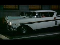 American Graffiti (1973) - Original Trailer - This was the story of my hubbies youth. Yes they jerked the rear-end out from under the cop car in Mapleton IA.