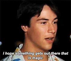 Keanu Reeves (1985) gif