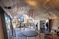 mAAch mAAch ecute Kanda Manseibashi - mixed use retail, exhibitions, food & library