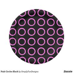 Orange Bullseye Black Paper Plates 7 Inch Paper Plate | Zazzle products designed by me | Pinterest | Black paper and Products  sc 1 st  Pinterest & Orange Bullseye Black Paper Plates 7 Inch Paper Plate | Zazzle ...