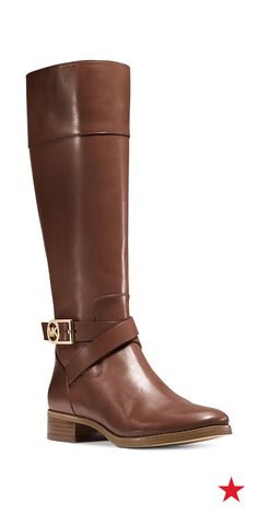 MICHAEL Michael Kors Bryce boots — we're totally feeling these boots for our Fall wardrobes. With a fab poncho and turtleneck, you just might have found your signature look for the season ❤️️MK & Color of these ones Mk Boots, Shoes Heels Boots, Heeled Boots, Bootie Boots, Wide Calf Boots, Tall Boots, High Boots, Cute Shoes, Me Too Shoes