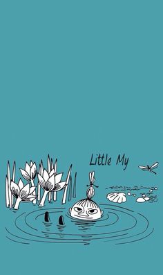 Moomin Wallpaper, Cartoon Wallpaper, Wallpaper Backgrounds, Iphone Wallpaper, Wallpapers, Little My Moomin, Moomin Valley, Tove Jansson, Illustrations And Posters