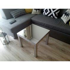 Tymczasowe miejsce dla stolika  #interior #ikeahack #lack @interior125