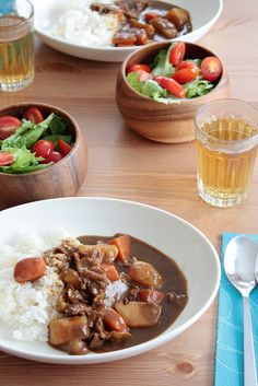 curry rice lunch!! by shok, via Flickr